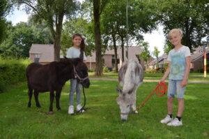 Emma en Cornelis naar school